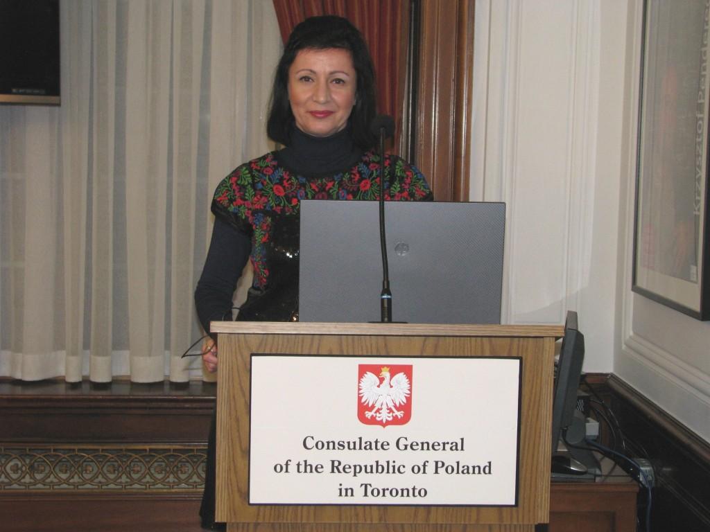 Prelegentka Anna Kloza
