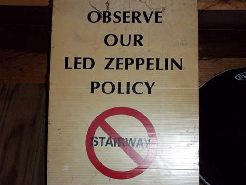 no stairway
