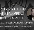 Holocaust Lecture 2016 CJN Advertisement