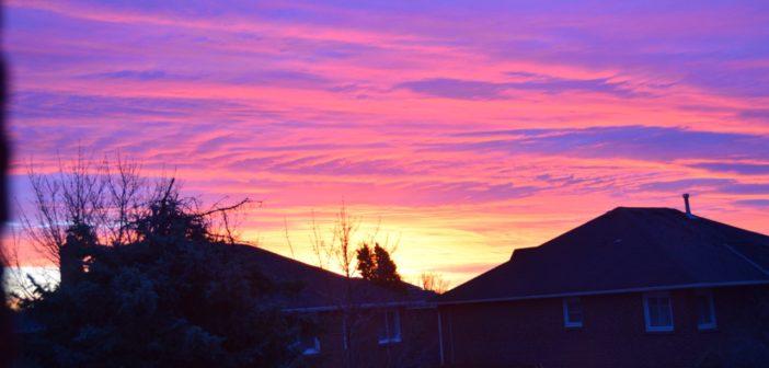 Niebo o 6 rano