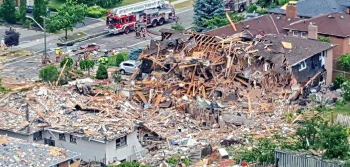 Tragiczna eksplozja w Mississaudze
