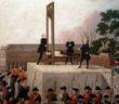 Ludwik XVI na gilotynie
