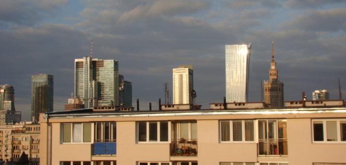 Pierwszy dzień wiosny w Warszawie