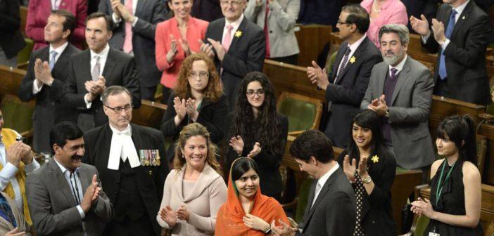 Najmłodsza noblistka jest już honorową obywatelką Kanady