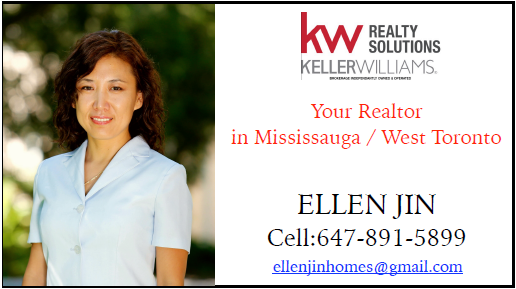 Your Realtor ELLEN JIN 647-891-5899