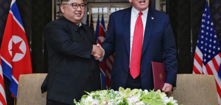 Spotkanie Trumpa i Kima zakończone podpisaniem wspólnego oświadczenia