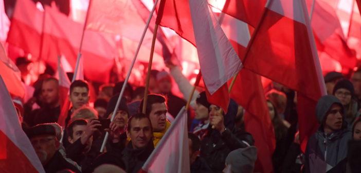 Fotoreportaż z trzech marszów w Warszawie
